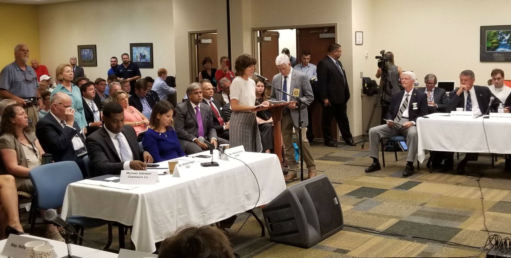 Dana Sargent Provides Public Comment at the Environmental Review Commission Meeting, Wilmington, August 23, 2017
