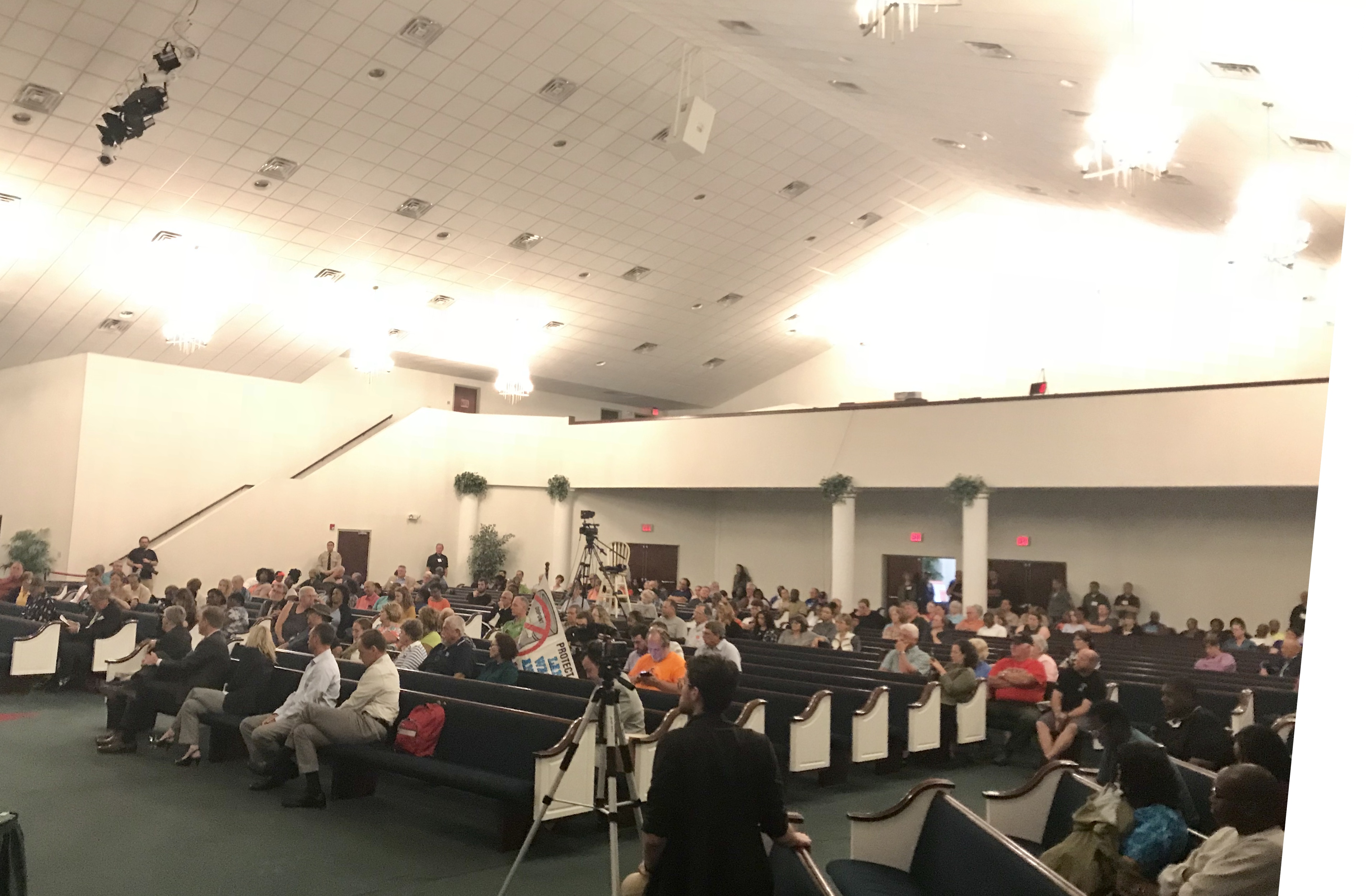 Chemours Town Hall, St. Pauls, June 12, 2018