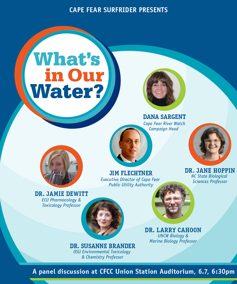 Clean Water Week - Panel June 7. 2018